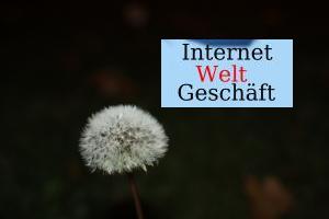 Internet Welt Geschäft